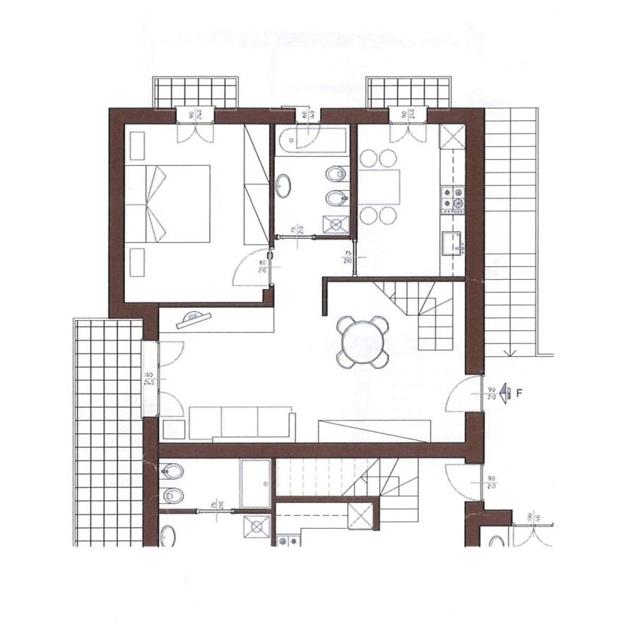Vendita appartamento oggiono trilocale con mandarda for Grandi piani domestici personalizzati